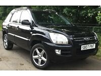 KIA SPORTAGE 2.0 XS 4WD 4x4 SUV 5 Door MOT MAY 2018, *IDEAL TOWING VEHICLE*, FULL LEATHER INTERIOR,