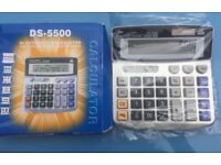 DS-5500 Calculator brand new in box, never used. Back to school or office