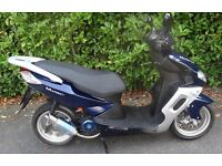 Sinnis Matrix 2 SPORTS SCOOTER 125 Learner Legal MOPED 4 Stroke ELECTRIC START Immaculate Condition!