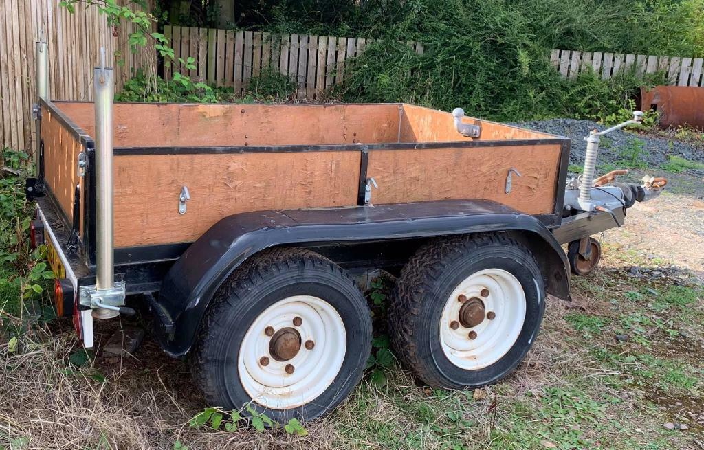 Heavy Duty Twin Axle 6x4 Trailer Twin Wheel 3Ton   in Dunbar, East Lothian    Gumtree