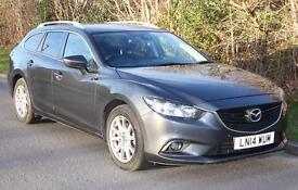 2014 Mazda 6 Tourer Estate 2.2 Diesel SE-L Nav