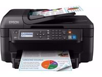 Epson WF2750DWF Colour Inkjet Wireless Printer + FREE BUNDLE 4 PCT INK CARTRIDGE