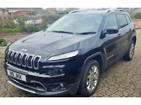 Jeep Cherokee 2014 Black Limited edition 4x4