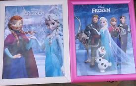 Frozen framed pictures