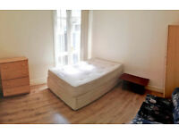 Single Room with double bed - 580 pounds (deposit 580) zone 2(Harringay green lane) N4 1AT