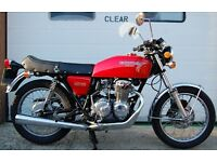 1975 HONDA RED 400 FOUR CLASSIC MINT CONDITION.