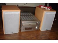 DENON UD-M50 POWERFUL Amp rds Radio Amplifier with Mission sc-m101 speakers