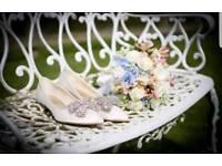 Bridal heels size 6