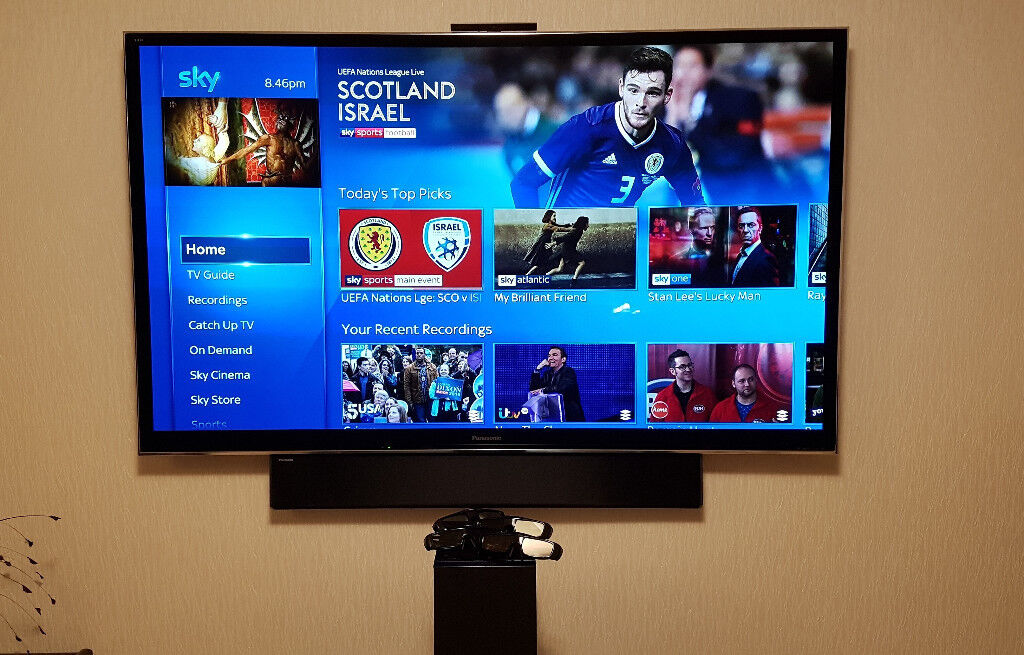Panasonic TX-P65VT50 65 Inch Full HD 3D Smart Viera TV/ Soundbar/Camera/3D  Glasses (TV not 4K) | in Cleator Moor, Cumbria | Gumtree