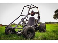 Manco Dingo 216 Petrol Off Road Go Kart w/Torque Converter. Fully Working. Lots of New Parts.