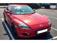Mazda RX8 231 Velocity red 13b Pro-drive cat back not rx7