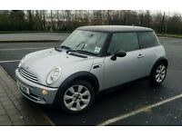 05 Mini Cooper 1.6 with 12 months mot and only 72k miles