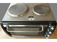Elgento - Electric Oven 28L with Double Hot Plates