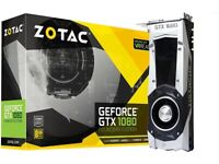 Zotac gtx 1080 founders edition (Used)