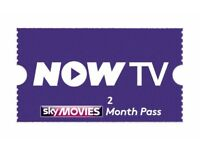 Now TV - 2 Month Movie Passes (Job Lot)