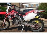 Honda cr 250 2003 model Road registered