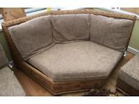 Cane conservatory furniture suite