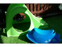 Kids Plastic Slide and rocker