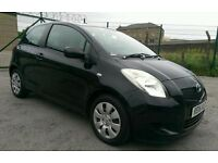 2006 06 REG TOYOTA YARIS 1.0 VVT-I, T3, 3 DOOR H/BACK, NEW SHAPE, HPI CLEAR, FULL 12 MONTHS MOT.