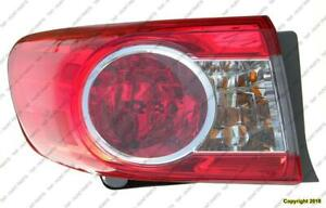 Tail Light Driver Side Canada Built  Toyota Corolla 2011-2013