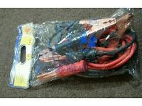 Marksman 200 Amp Jumper Booster Cables 2.5 M Brand new