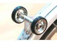 Double Mudguard Roller BROMPTON Lightweight SILVER