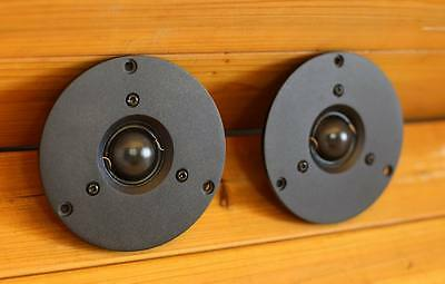 pair 2pcs HIEND  28MM tweeter reference on Dynaudio T330 K.O scanspeak 9500