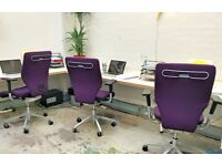 Desk Space incl. Private Meeting Room at The Laundry (London Fields / Hackney Area)