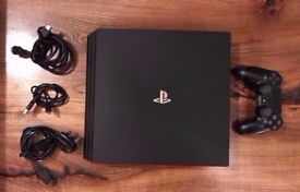 PS4 PRO 1TB, 1 Controller and All Wires - Swap for PS4 Original/Slim and £150 Cash
