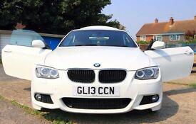 White BMW 3SERIES