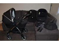 Silver Cross Wayfarer Travel System 3 in 1 - car seat, pushchair and carrycot plus accessories