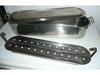 Stainless Steel Fish Kettle 60cm