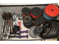 Free Weights Bench & Bars