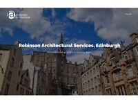 Robinson Architectural Services - surveys, technical drawings, planning and warrant applications.