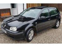 VW GOLF TDI - Fantastic condition. VOLKWAGEN GOLF TDI 5 door (2001)