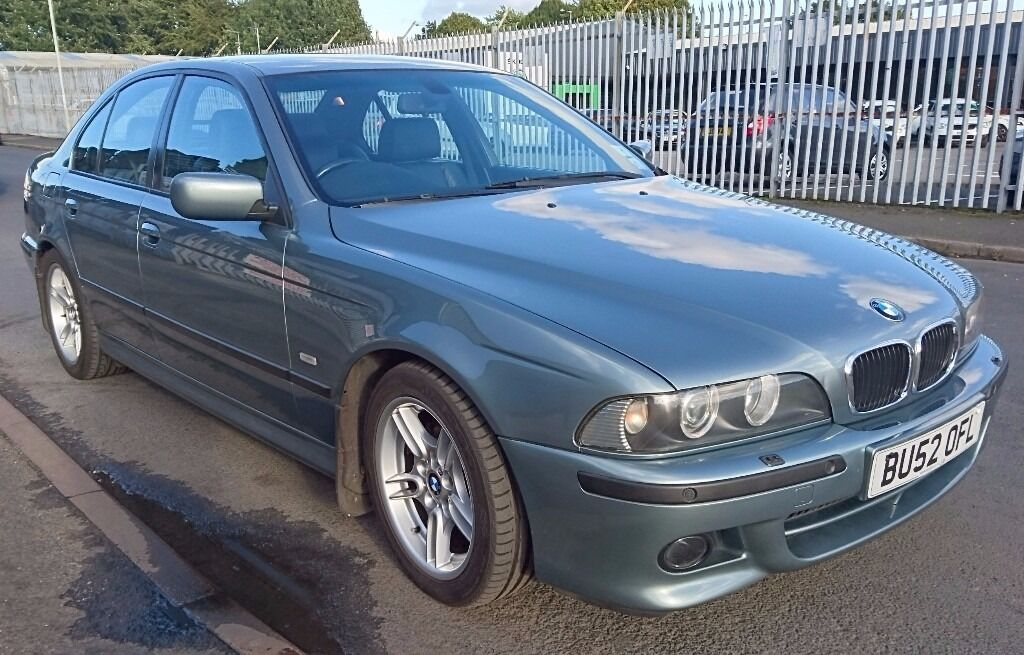 BMW 530i M Sport Auto low mileage, full service history, leathers, bargain