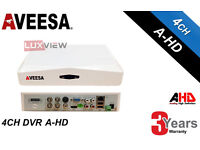Aveesa 4 Channel AHD 1080p Recorder 404 Pro - Upto 4TB HDD