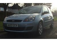 Ford Fiesta Style Climate 16v 3dr (blue) 2007