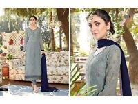 S MAIRA BY TANU DESIGNER GEORGETTE SUITS WHOLESALE