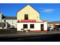 Spacious cafe / office / retail unit in prominent, well-maintained location within Ballymoney