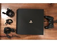 PS4 PRO, 1 Controller and All Wires *Brand New Condition* - Swap for Ps4 original/slim and £175