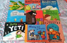 Bundle of 9 Kids Books - Maisy Mouse, Garfield etc.