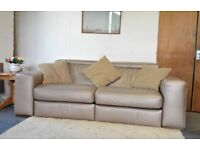 Leather Recliner Sofa (Powered) by Natuzzi 35 ~ Can Deliver