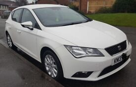 Seat Leon SE 1.6 TDI White 2013 Immaculate