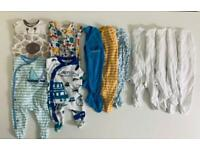 BABY BOY NEWBORN/FIRST SIZE/UP TO 10LBS BUNDLE