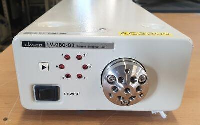 Jasco Lv-980-03 Solvent Selection Unit