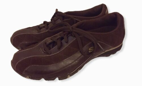Skechers Brown Suede And Leather SN 46622 Toffee Size 8.5 EUC - $25.00