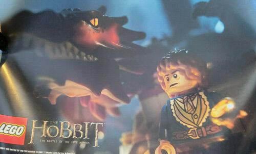 2014 SDCC COMIC CON EXCLUSIVE LEGO THE HOBBIT BATTLE OF THE FIVE ARMIES POSTER