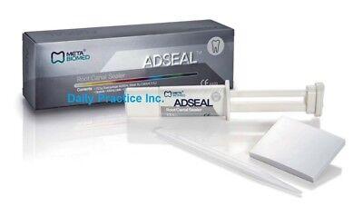 Meta Biomed Adseal Resin Root Canal Sealer 13.5gm Dual Syringe Mfg 303000