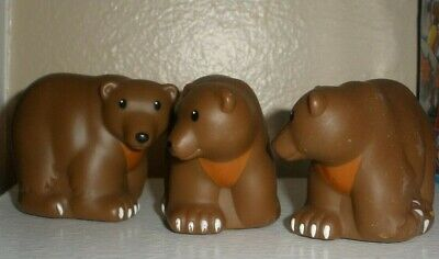 Zoo Talkers Fisher Price Little People Wild Animals - Brown Bear